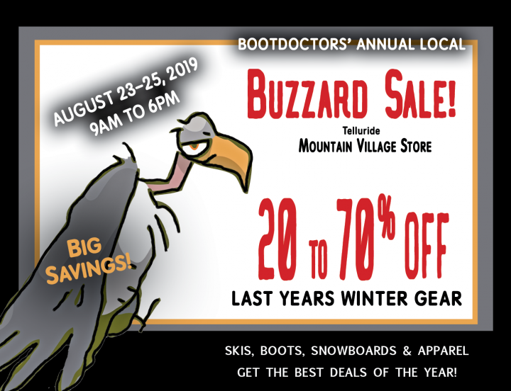 Buzzard sale