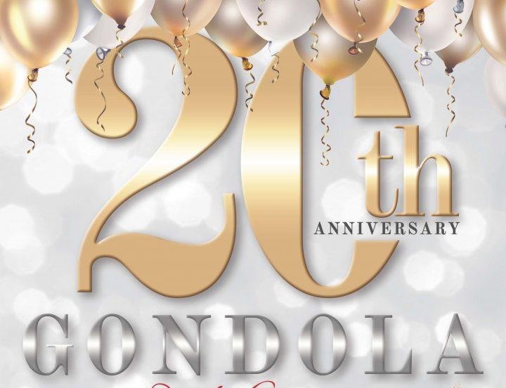 20th Gondola Anniversary Event