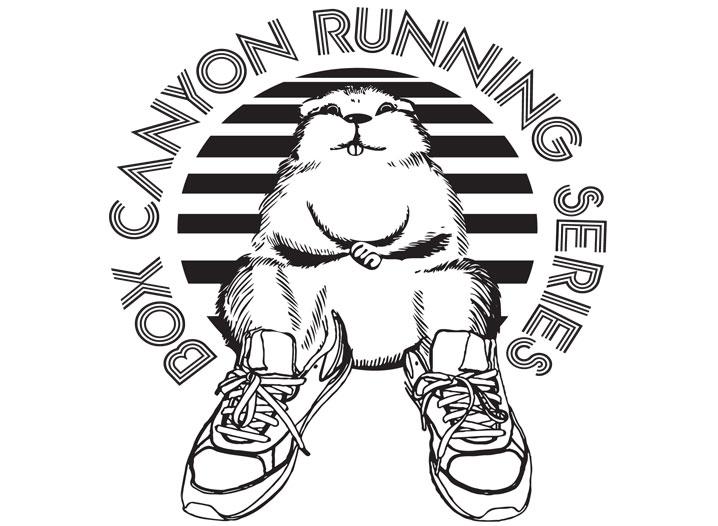 Box Canyon Running Event Logo
