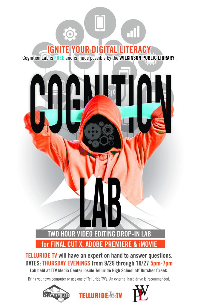 Cognition Lab: Drop In Lab for Final Cut X, Adobe Premiere