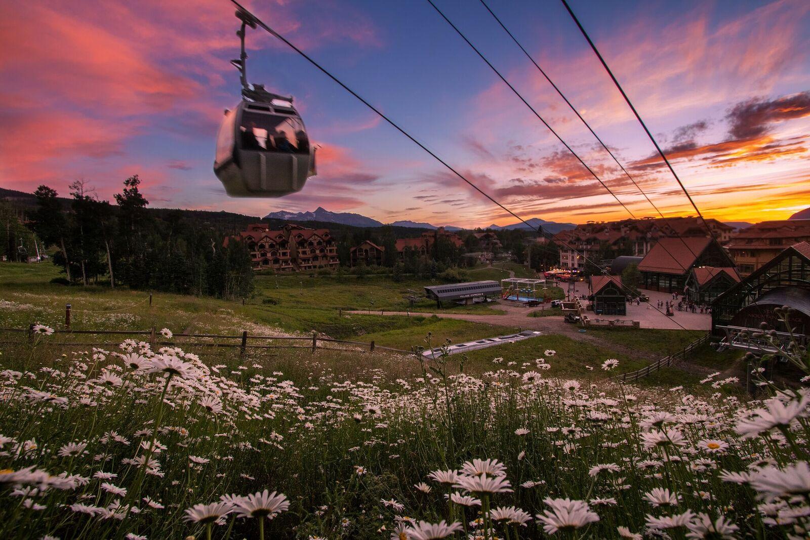 Mountain Village Gondola Spring