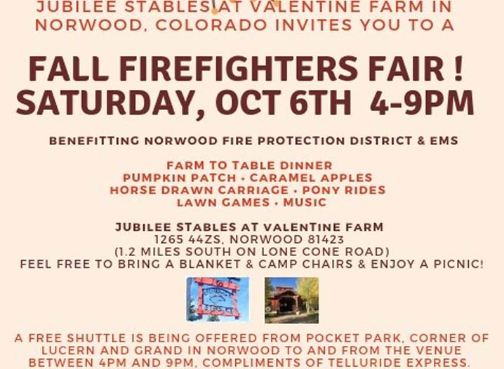Norwood Fire Fundrasier