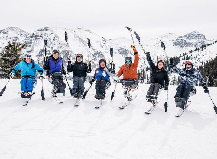 Adaptive Skiers