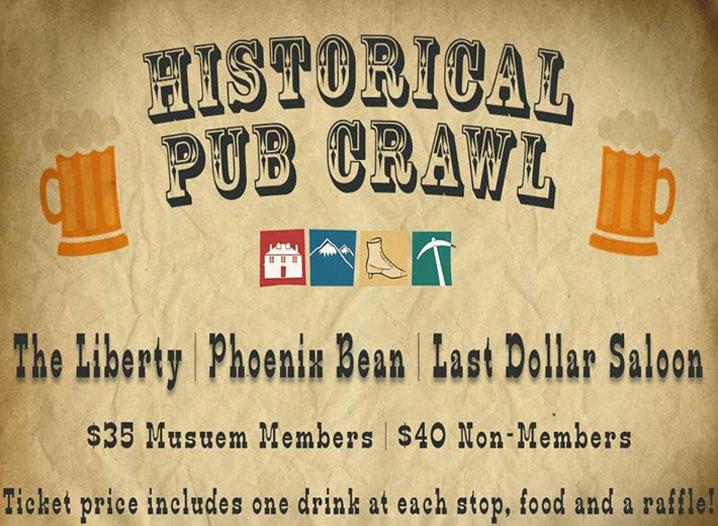 Telluride Historical Museum Pub Crawl