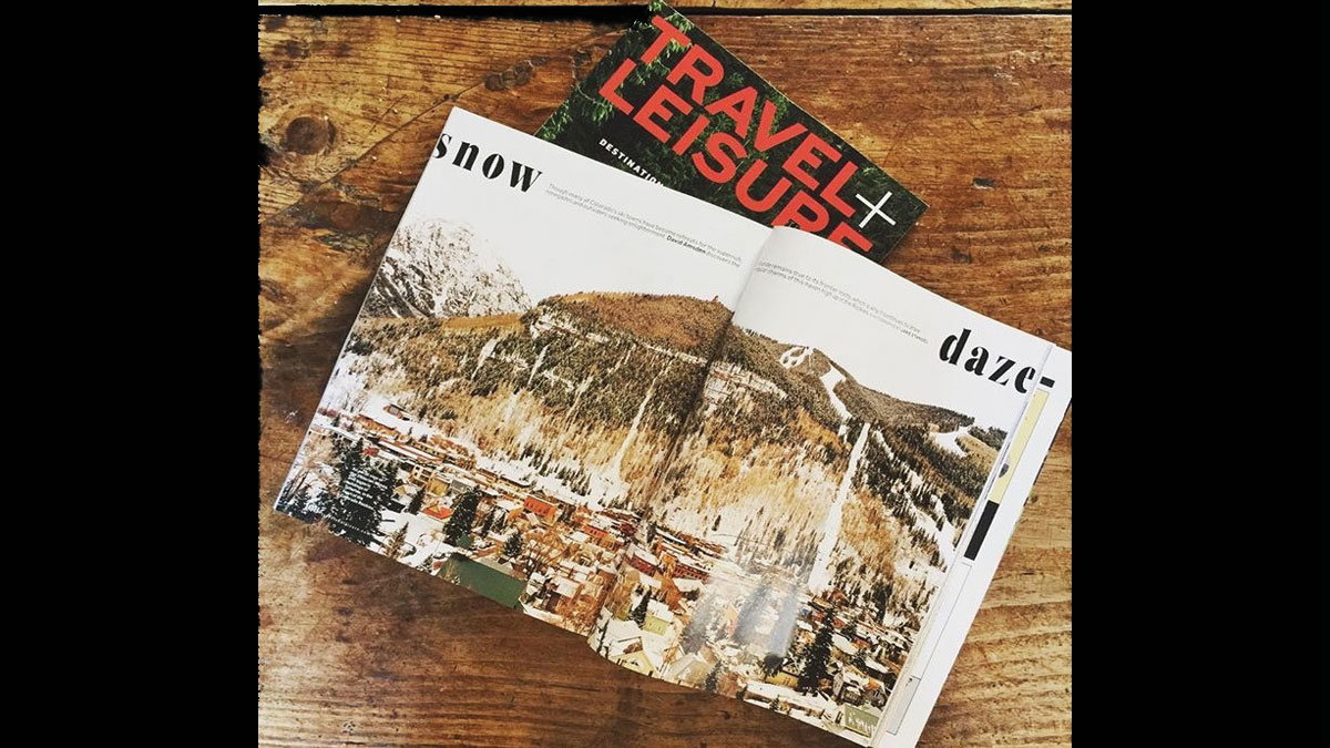 Travel and Leisure Article Snow Daze