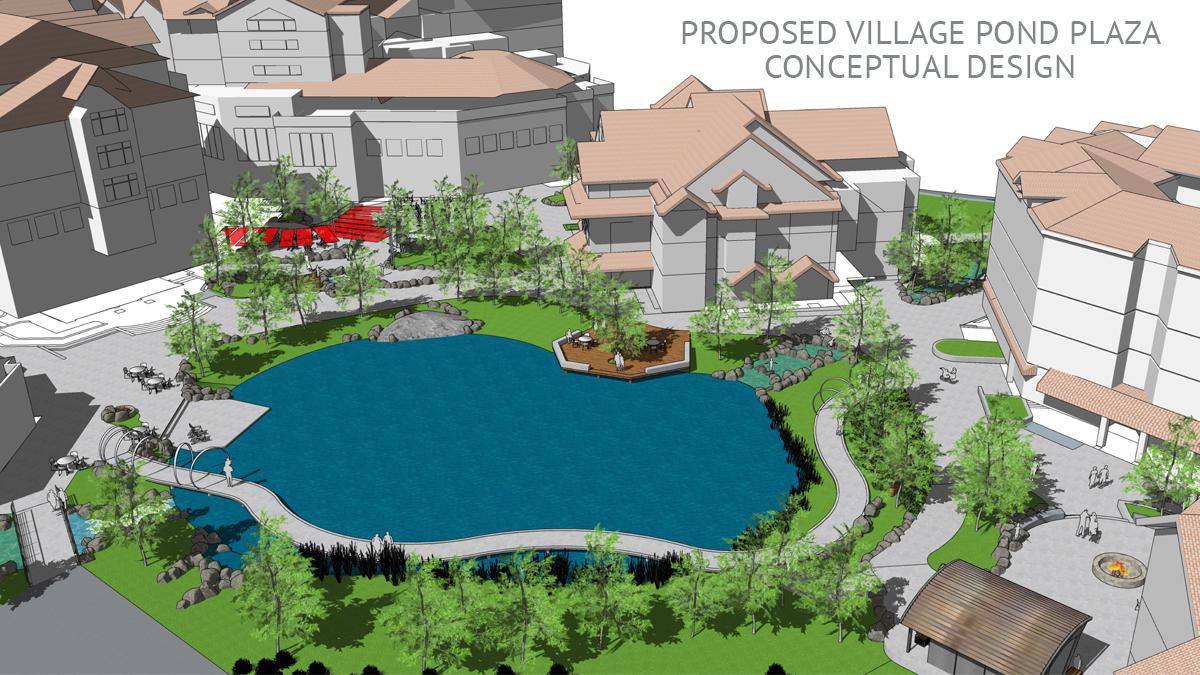 Village Pond plan
