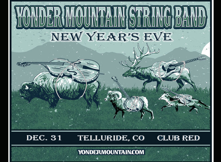Yonder Mountain NYE Flyer 2017 Event